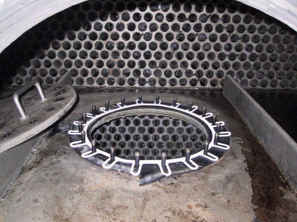 large opra gasket on flange