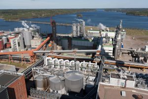 pulp and paper plant