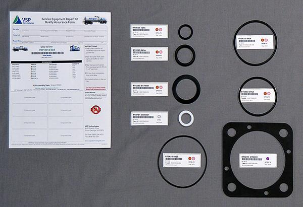 service equipment repair kit